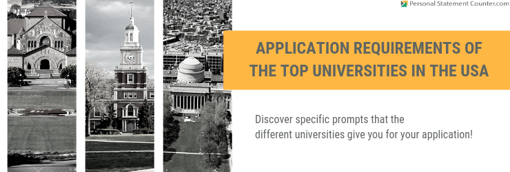 Application Requirements of the Top Universities in USA